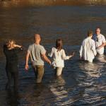Vi reiste til Rognstranda for å holde dåpsmøte