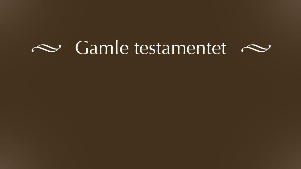 Gamle testamentet