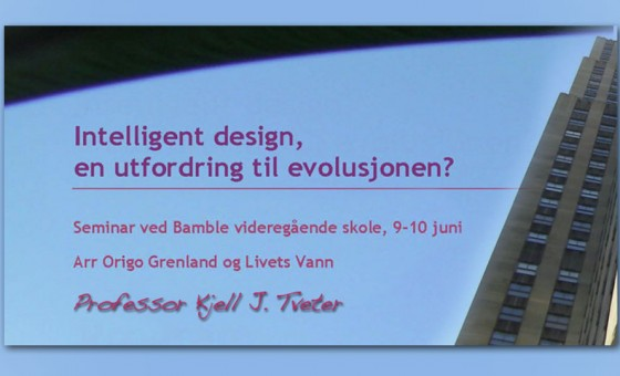 Intelligent Design seminar